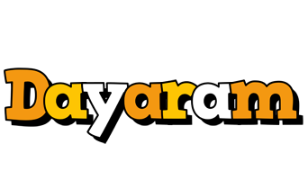 Dayaram cartoon logo