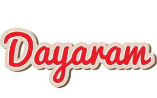 Dayaram chocolate logo