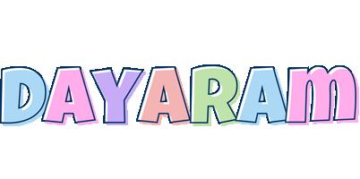Dayaram pastel logo