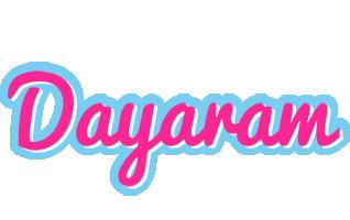Dayaram popstar logo