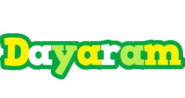 Dayaram soccer logo