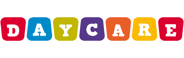 DAYCARE logo effect. Colorful text effects in various flavors. Customize your own text here: https://www.textGiraffe.com/logos/daycare/
