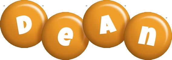 Dean candy-orange logo