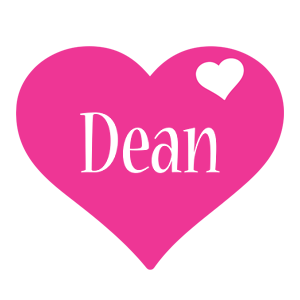 Dean love-heart logo