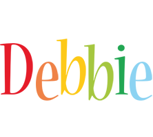 Debbie birthday logo