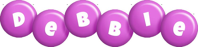 Debbie candy-purple logo