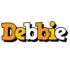 Debbie cartoon logo