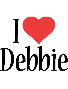 Debbie i-love logo