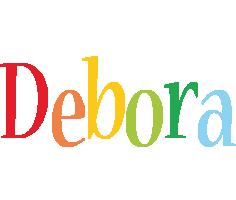 Debora birthday logo