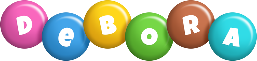 Debora candy logo