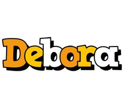 Debora cartoon logo
