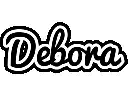 Debora chess logo