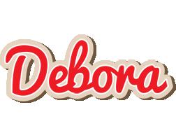 Debora chocolate logo