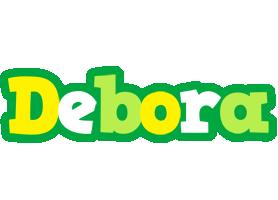 Debora soccer logo