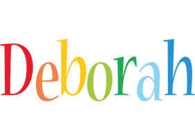 Deborah birthday logo