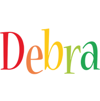 Debra birthday logo