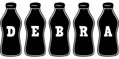 Debra bottle logo