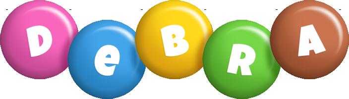 Debra candy logo