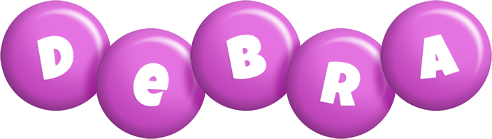 Debra candy-purple logo