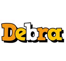 Debra cartoon logo