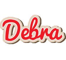 Debra chocolate logo