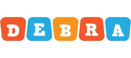 Debra comics logo