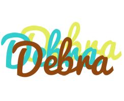 Debra cupcake logo