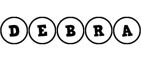 Debra handy logo