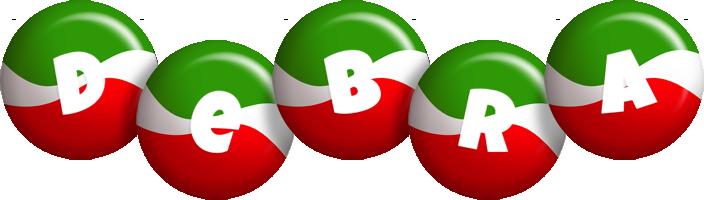 Debra italy logo