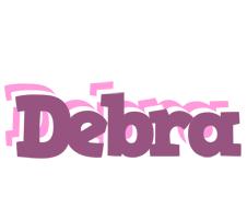 Debra relaxing logo
