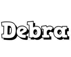 Debra snowing logo