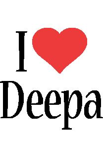 Deepa i-love logo