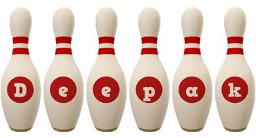 Deepak bowling-pin logo