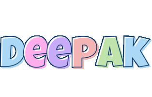 Deepak pastel logo