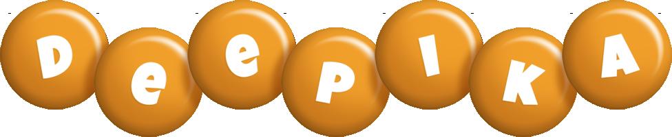 Deepika candy-orange logo