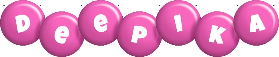 Deepika candy-pink logo