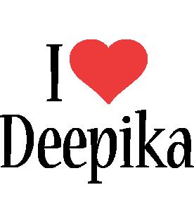 Deepika i-love logo