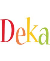 Deka birthday logo