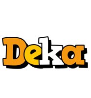 Deka cartoon logo