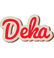 Deka chocolate logo