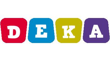 Deka daycare logo
