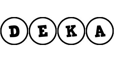 Deka handy logo