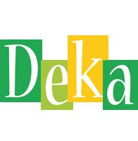 Deka lemonade logo
