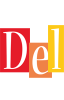 Del colors logo