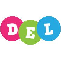Del friends logo