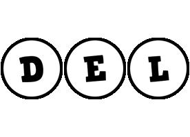 Del handy logo