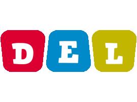 Del kiddo logo