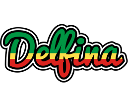 Delfina african logo