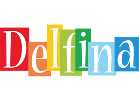 Delfina colors logo