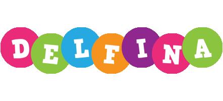Delfina friends logo